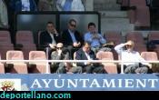 Navarro vio el partido en el palco