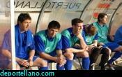 z- Andr�s, Villa, Carlos, Heredia y Gorrasi en el banquilllo
