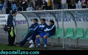 z- Encinas, Rojas y Honorio conversan con el jefe de prensa de l